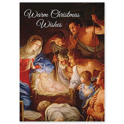 Warm Christmas Wishes Christmas Cards - PNWCB4341