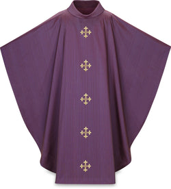Gothic Chasuble Purple - WN5365P