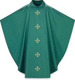 Gothic Chasuble Green- WN5365G