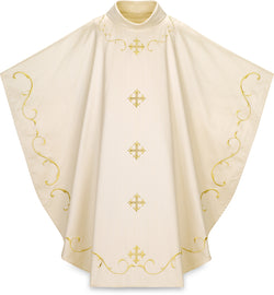 Gothic Chasuble White- WN5366