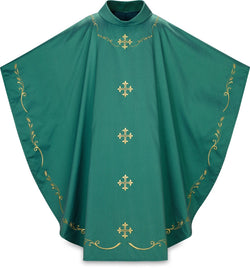 Gothic Chasuble Green- WN5368