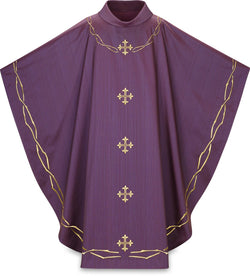 Gothic Chasuble Purple - WN5369