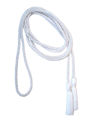 White Altar Server Tassel Cincture - VL9015 118""