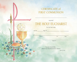 First Communion Certificate - FQXD103