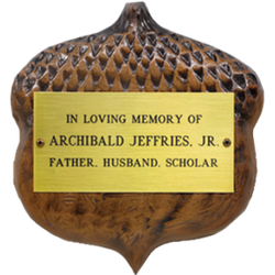 Acorn Recognition Plaque