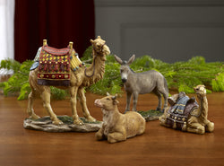 Set of 4 Nativity Animals for The Real Life Nativity