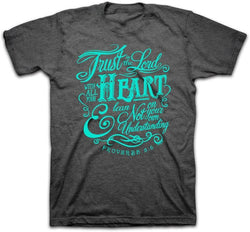 "Women's T-Shirt ""Trust in the Lord"" - KETSHIRTS-A"