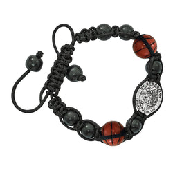 Black Basketball Bracelet - UZBR736C
