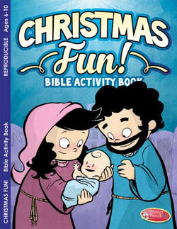 Christmas Fun! Bible Activity Book - AJE4771