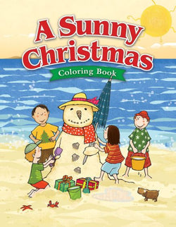 A Sunny Christmas Coloring Activity Book - AJE4803