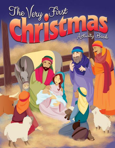 The Very First Christmas Coloring Activity Book - AJE4806
