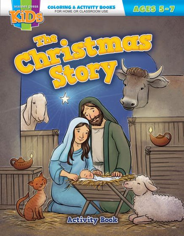The Christmas Story Coloring Activity Book - AJE4822