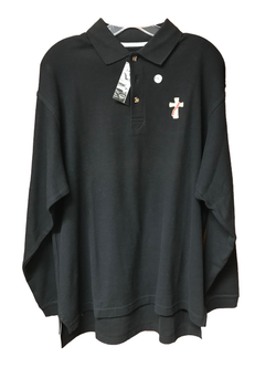 Deacon Long Sleeve Polo - SL8592-M