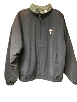 Grey Jacket with Deacon Symbol(with lining) - SL8952S