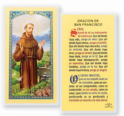St. Francis of Assisi Oracion De San Francisco- TA700130 - Spanish