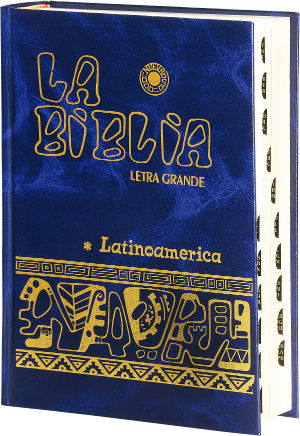 La Biblia Lationamerica Indexed - Blue/Azul - UK010004(I)