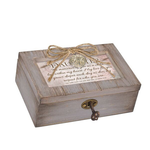 Petite Distressed Music Box with Locket Daughter - GPLPGRFRIENDD