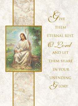 Eternal Rest Mass Cards FQMC006