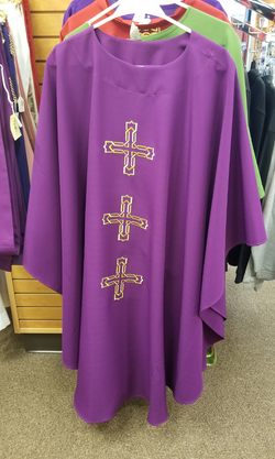 Gothic Chasuble - Purple - SL2021P