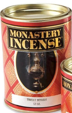 Monastery Incense - Sweet Myrrh - UJ859