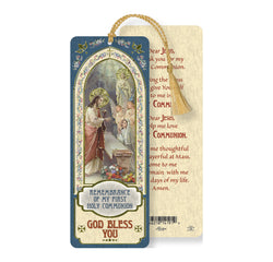 Communion Girl Bookmark with Tassel - TAB8679
