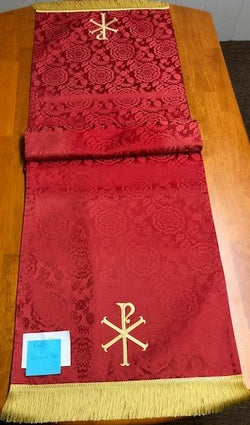 Table Runner- Red Tudor Rose - Sale Priced - VQTABLERUNNER