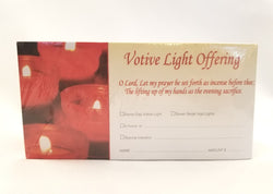 Offering Envelope Votive lights - TE9913