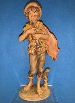 7 Inch Shepherd Boy Resin Statue - RS-SHEPHERD