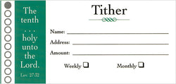 Tither Offering Envelopes - MA07501