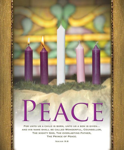 Peace Advent Bulletin Cover - AJU3357