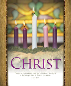 Christ Advent Bulletin Cover - AJU3360