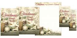 Christmas Shines Its Miracle Christmas Stationary Set