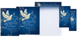 Heavenly Peace Christmas Stationary Set