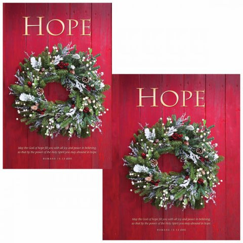 Hope Christmas Bulletin Cover - AJU3368