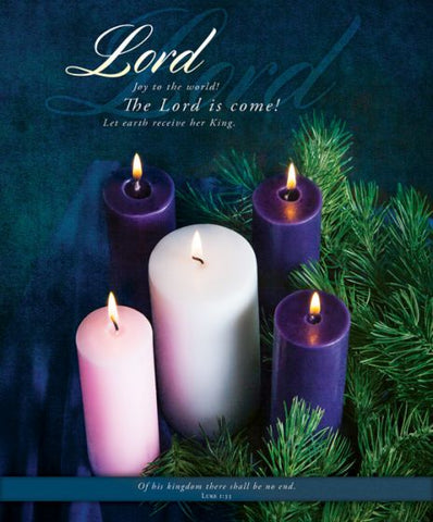 Lord Advent Bulletin Cover - AJU3373