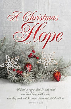 A Christmas Hope Christmas Bulletin Cover - AJU3378