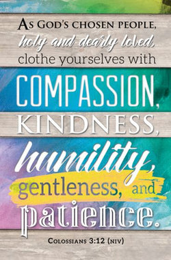 Clothe Yourselves with Compassion Bulletin Cover - AJU7694