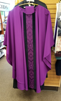 Gothic Chasuble - Purple - XXI0417187A