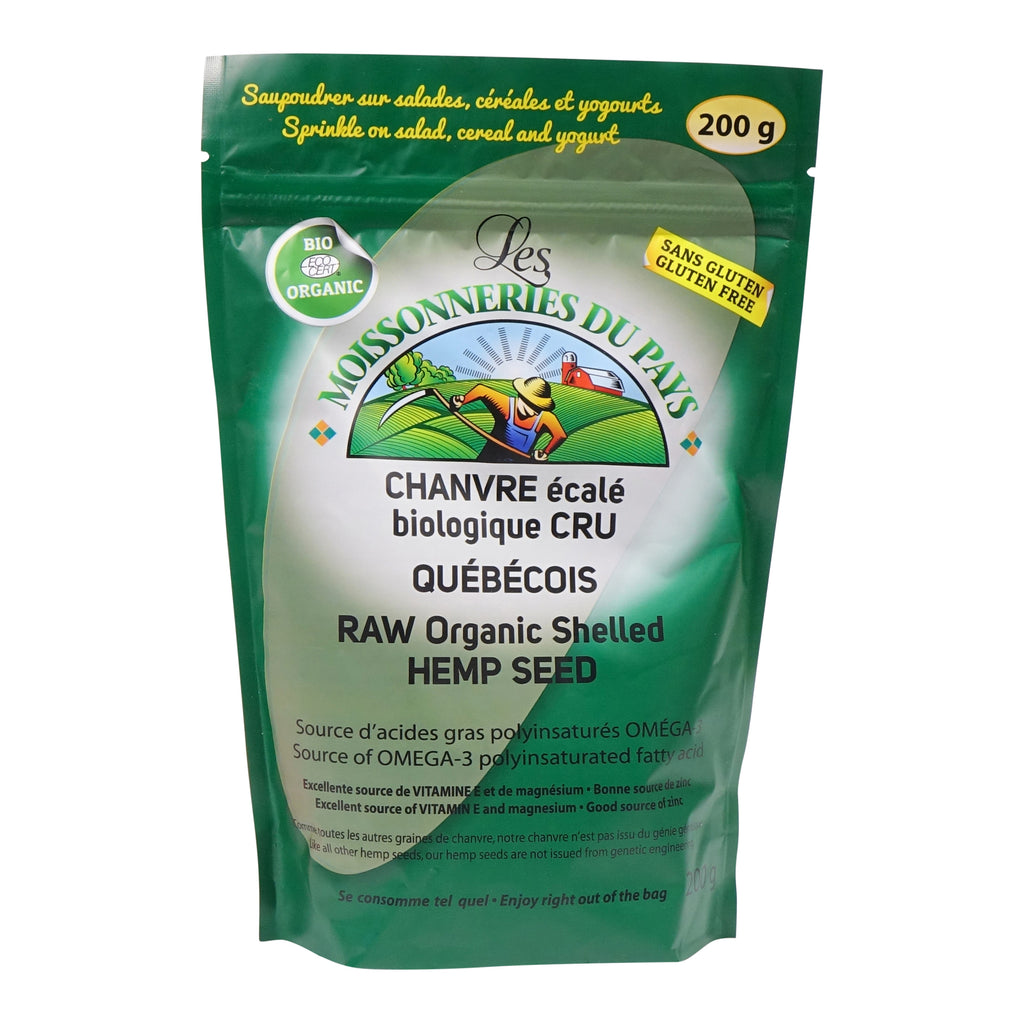 Organic shelled hemp seed 200 g
