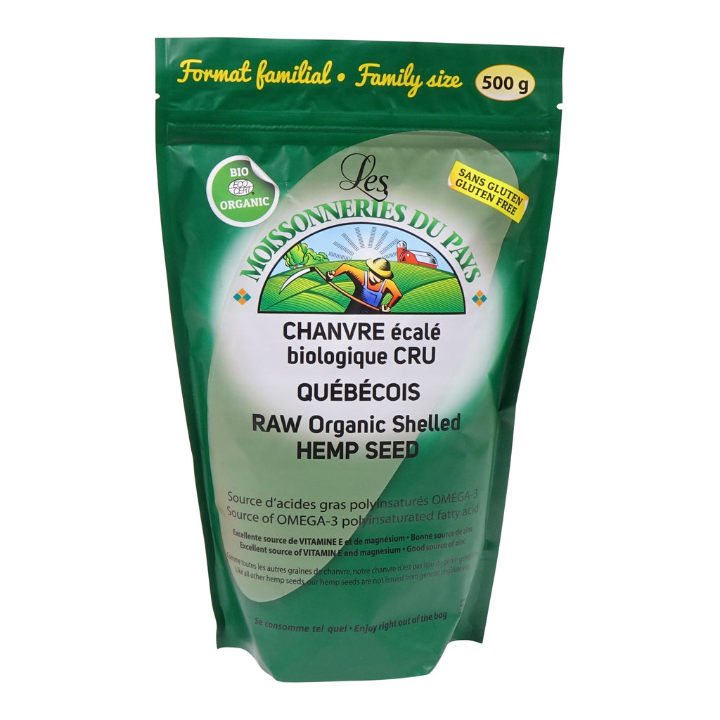 Organic shelled hemp seed 500 g