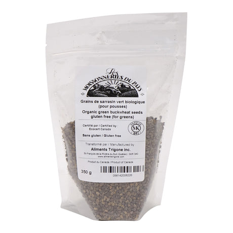 Organic green buckwheat seeds (for greens) 350 g