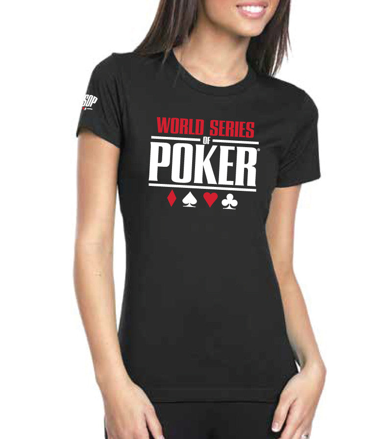 WSOP® FLAGSHIP Logo T-Shirt Black