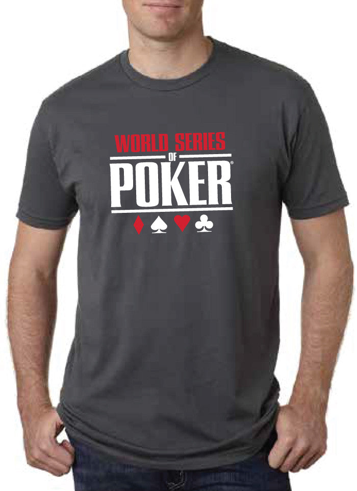 WSOP® FLAGSHIP Logo T-Shirt Metal Grey