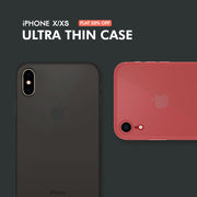 iPhone X/XS RECCI Ultra Thin Matte Skin Transparent Anti-scratch PP Hard Case