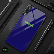 Galaxy A70 Radium logo Glow Light Illuminated Case