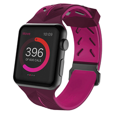 X-Doria®Apple Watch Sport Action Pink & Purple 42mm (Watch Not Included)