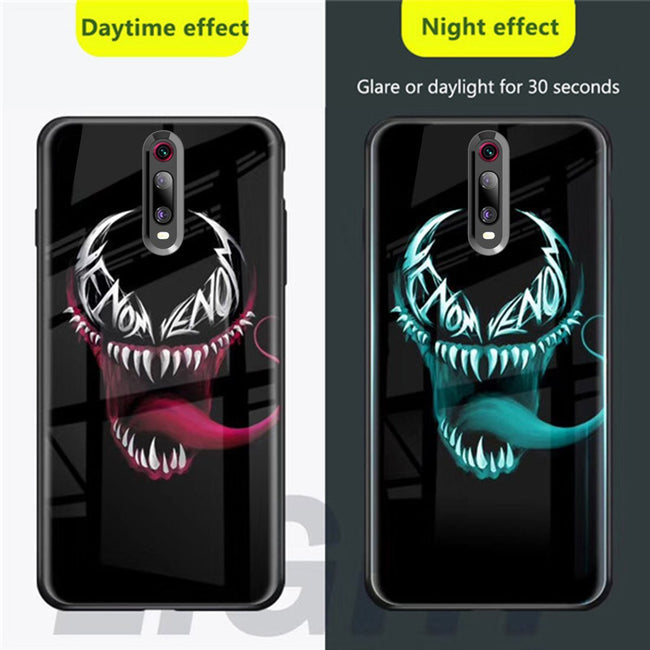 Redmi K20/K20 Pro Radium Venom logo Glow Light Illuminated Case