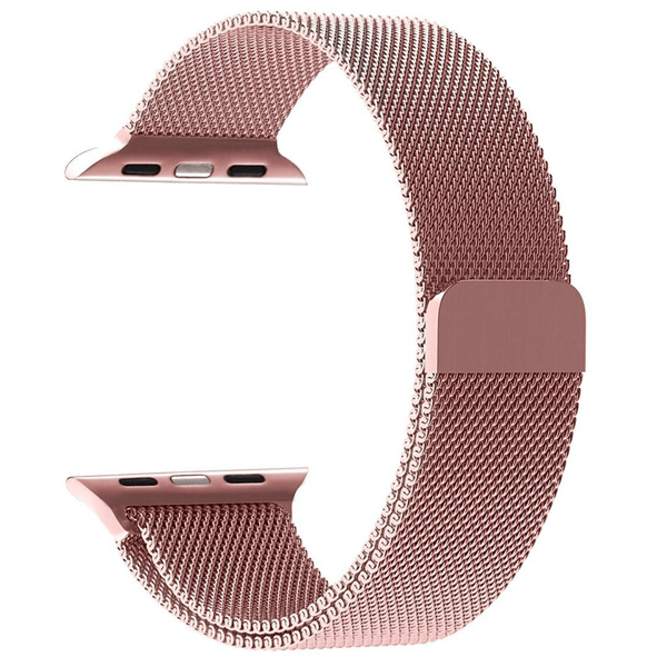 Milanese rosegold loop strap For Apple Wrist Watch Band Strap 42mm  (Watch Not Included)