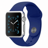 Apple Watch Band Silicone Sport Blue Color 42mm 2018 | Oplore