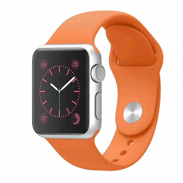 iWatch Sport Band Orange Color 42mm (Watch Not Included)
